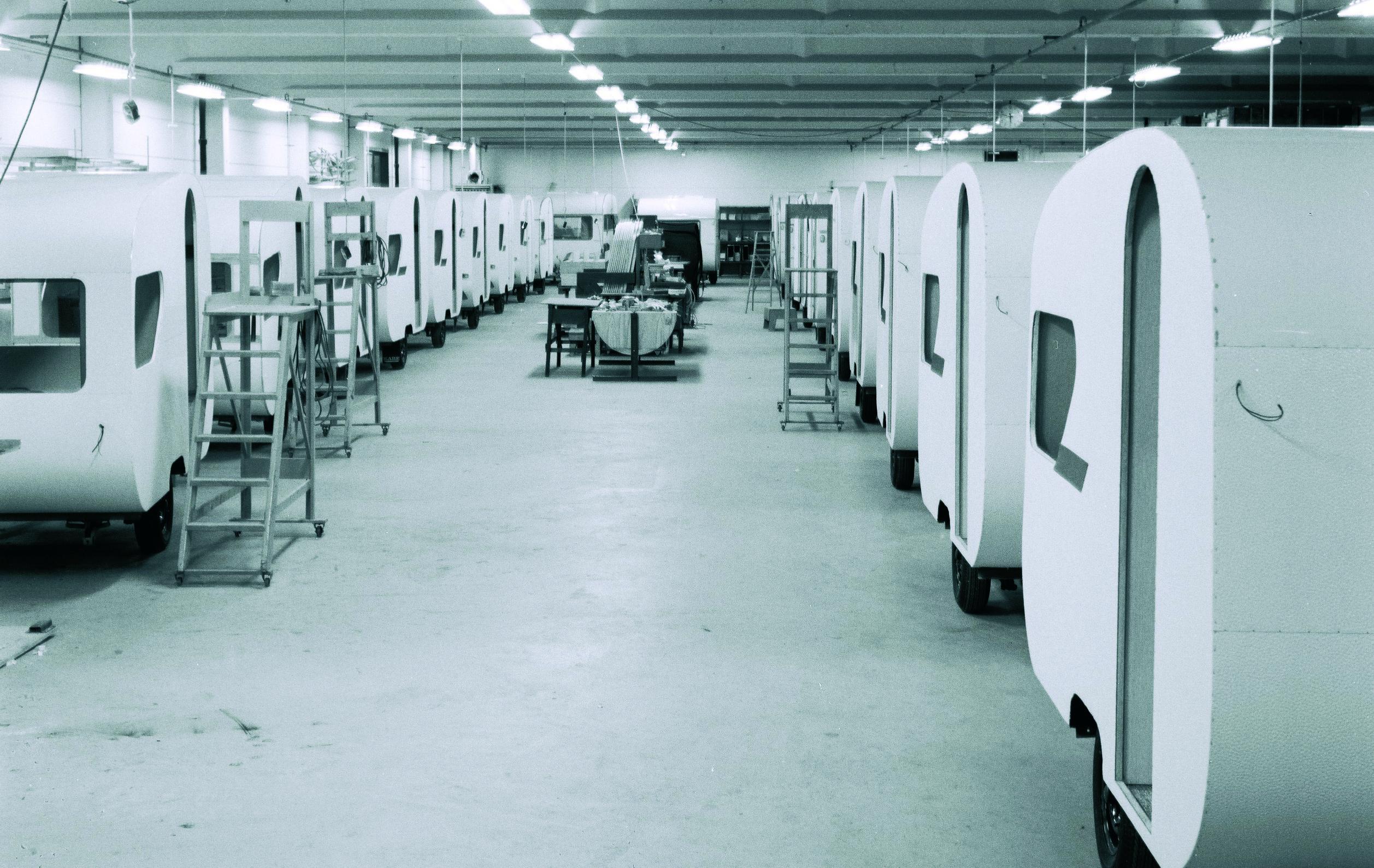 Kabe-fabrikken på 60-tallet