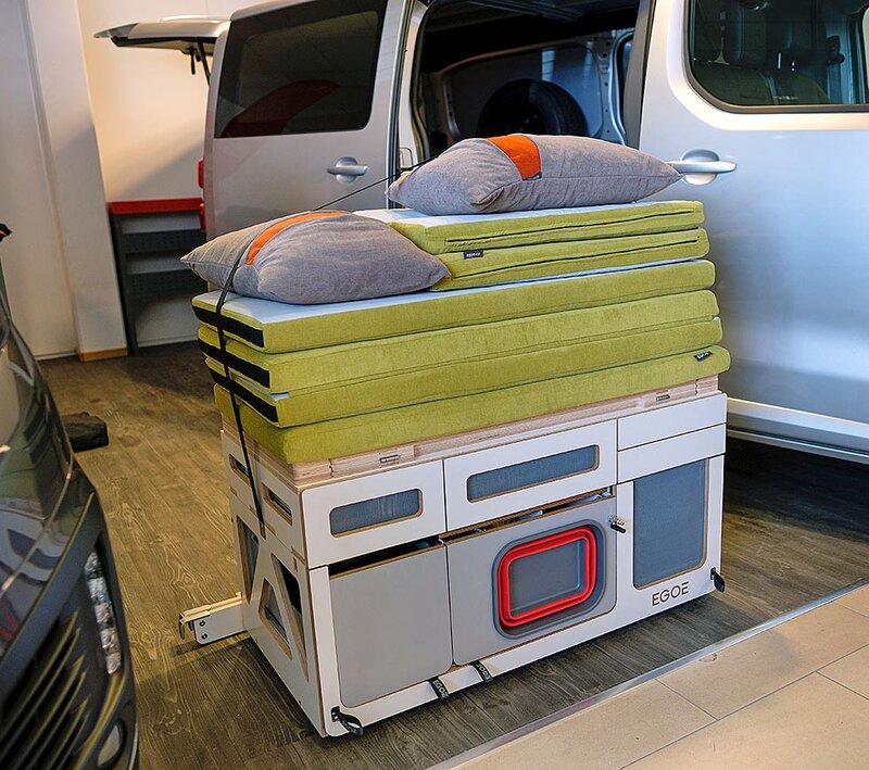 varebil til campingbil