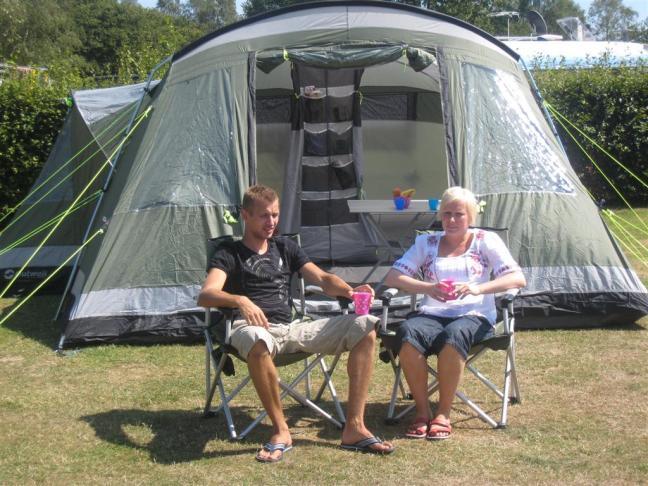 Slik setter du opp teltet ditt | Din Fritid