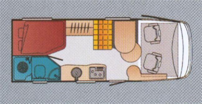 Test: Bürstner Elegance I 660 (2005 modell) | Din Fritid